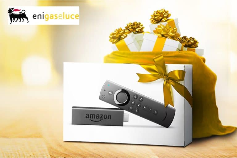 Vinci con Eni gas e luce Amazon Fire TV Stick