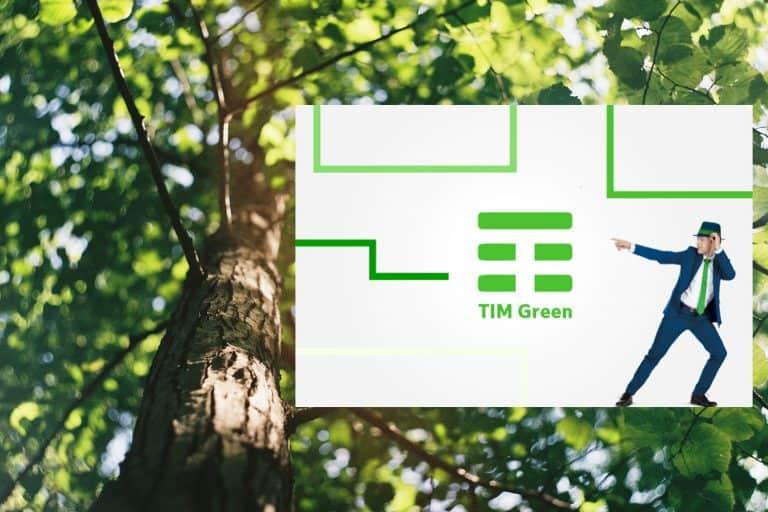 Al via TIM Green, il progetto a impatto zero di TIM