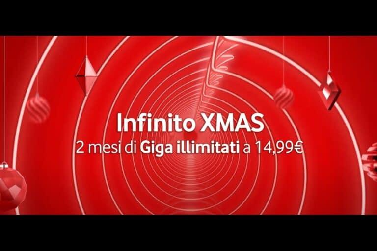 Offerta Vodafone Infinito XMAS: per due mesi tutto illimitato!