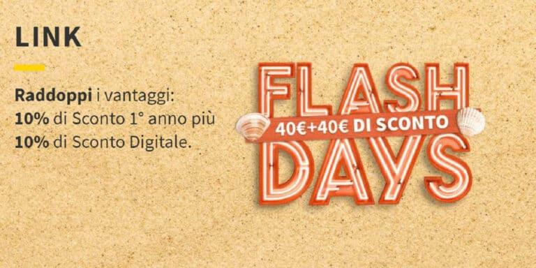 Eni Flash Days, l'offerta dedicata ai clienti residenziali