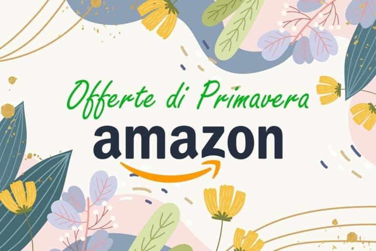 Amazon, le offerte di Primavera per tecnologia ed elettrodomestici