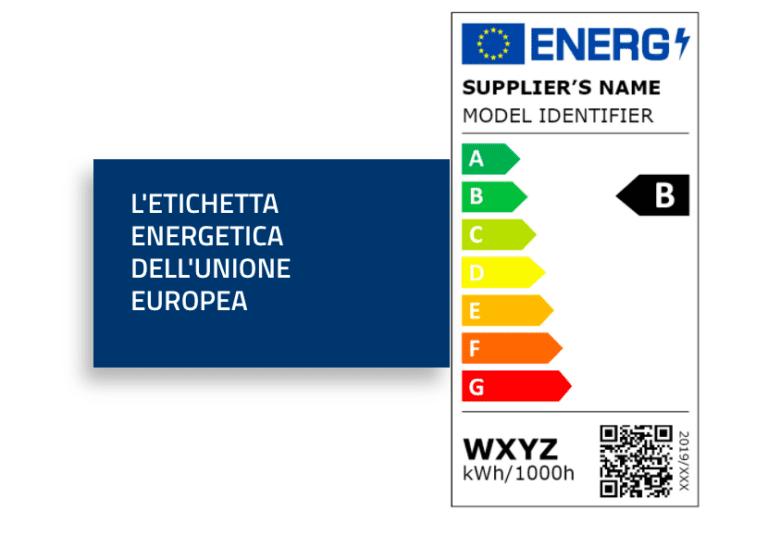 La nuova etichetta energetica per gli elettrodomestici