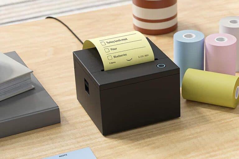 Alexa Print: la stampante Amazon vocale per post-it, liste della spesa e puzzle