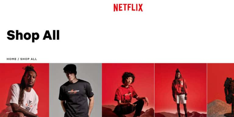 Netflix Shop: apre lo store online dedicato al merchandising