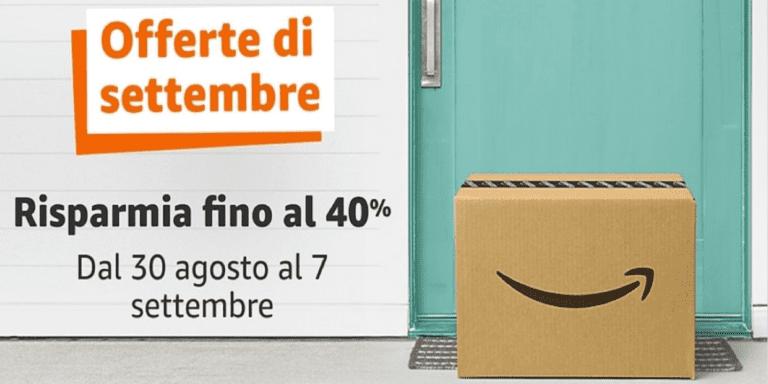 Offerte Amazon settembre: i prodotti più interessanti