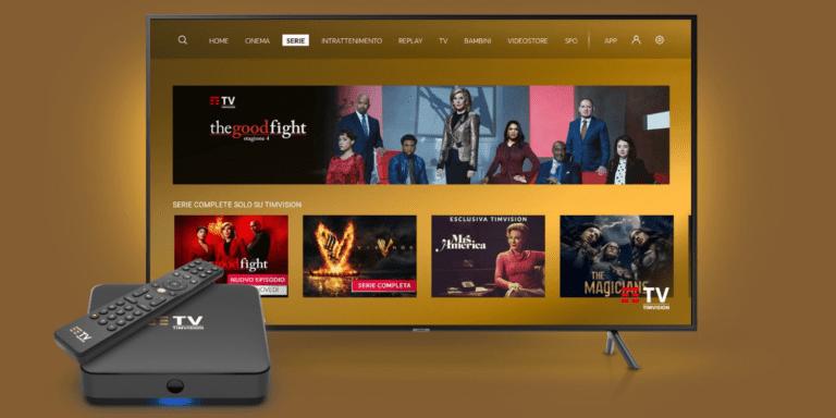 L'offerta TIM Vision con DAZN, Netflix e Disney+ in maxi promozione